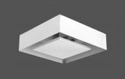 Plafon Luz Indireta Soprebor Quadrado 4G9 30x30cm Real 200/30