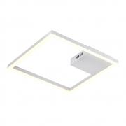 Plafon Sobrepor Tec Branco 40cm LED 30W 3000K Bivolt GD014W Bella