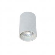 Plafon Spot de Sobrepor para AR70 GU10 Redondo Recuado Branco DS2449 Delis