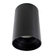 Plafon Spot de Sobrepor para PAR20 E27 Redondo Recuado Preto DS2446 Delis