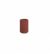 Porta Escova em Cimento Vermelho 9cm 13650 Mart