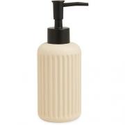 Porta Sabonete Liquido Bege em Cimento 13649 Mart