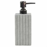 Porta Sabonete Liquido Branco em Resina 19,5cm PO0125 BTC