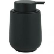 Porta Sabonete Liquido Preto em Cimento 13652 Mart