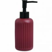Porta Sabonete Liquido Vermelho em Cimento 13648 Mart