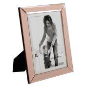 Porta Retrato Vidro Cobre Rose 10X15cm KV0178