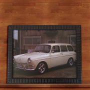 Quadro Decorativo Com Moldura Carro Antigo 30X40CM QD17