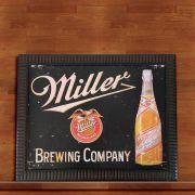 Quadro Decorativo Com Moldura Cerveja Miller 30X40CM QD05