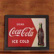 Quadro Decorativo Com Moldura Coca Cola 30X40CM QD18