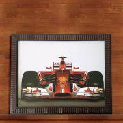 Quadro Decorativo Com Moldura Formula 1 30X40CM QD04