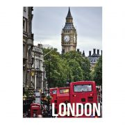 Quadro Decorativo London Day Light 50x70cm Btc
