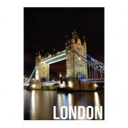 Quadro Decorativo London Night Lights 50x70cm Btc