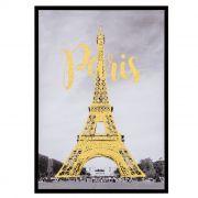 Quadro Em Canvas Paris Decorativo Com Moldura 7911 50X70CM