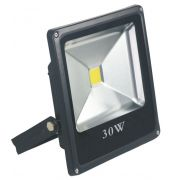 REFLETOR SUPER LED 30W 6000K SLIM EMBU LED