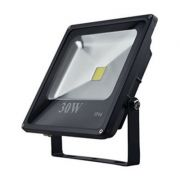 REFLETOR LED 30W AZUL SLIM EMBU LED
