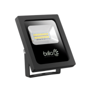 REFLETOR LED SLIM 10W 3000K IP65 BIVOLT BRILIA