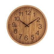 Relogio de Parede Redondo Wood 25cm 1539 Lyor