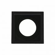 Spot de Embutir Face Recuada Direcionável Par30 Preto DS2430 Delis