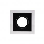 Spot de Embutir Recuado Direcionável Branco/Preto Dicróica MR16 DS2425 Delis