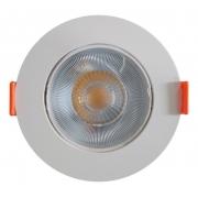 Spot de Embutir Redondo Direcionável Led 5W 6500K Bivolt Branco DS4061 Delis