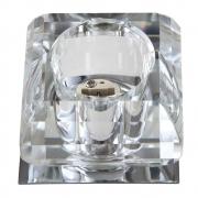 Spot Embutir Cristal 1GU10 5x7cm