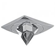 Spot Embutir Shine Espelhado Cristal Transparente 1GU10 YD795 Bella