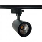 Spot Para Trilho Preto LED 10W 2700K NEO DL143P10 Bella