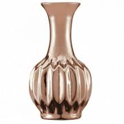 Vaso Decorativo Cerâmica Cobre 6,5X12,5CM 5639