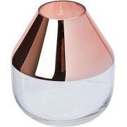Vaso Decorativo Vidro Rose 13x11CM 09369 Mart Collection