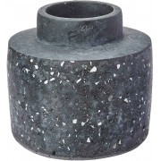 Vaso Preto em Cimento 15x16cm 10362 MART