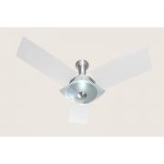 Ventilador de Teto Naulu Escovado Pás Branco 127V Tron