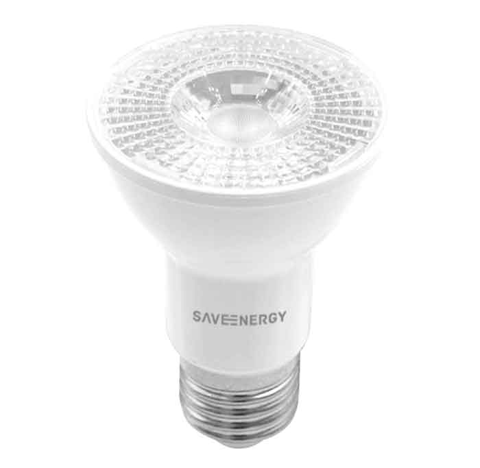 22x Lâmpada Par20 4,8W 2700K Save Energy