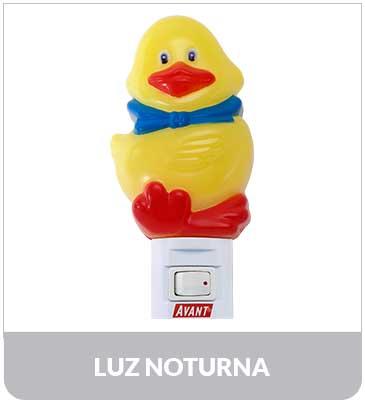 Abajur Luz Noturna Pato 7W 127V Avant