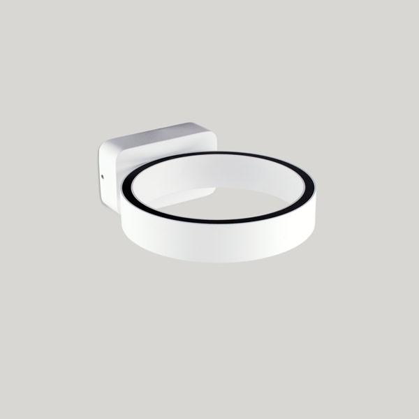 Arandela Aro Branco Fosco LED 7W 3000K Bivolt Starlux