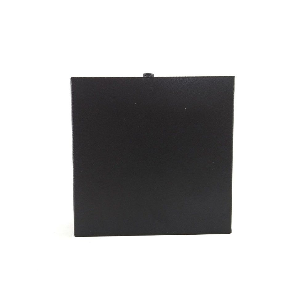 Arandela Box Slim Aluminio Preta 1g9 Ar7-2