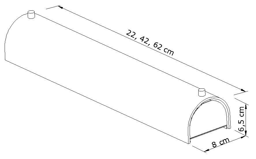 Arandela Camarim Metal e Vidro Branco 1E27 22x6CM Metal Domado