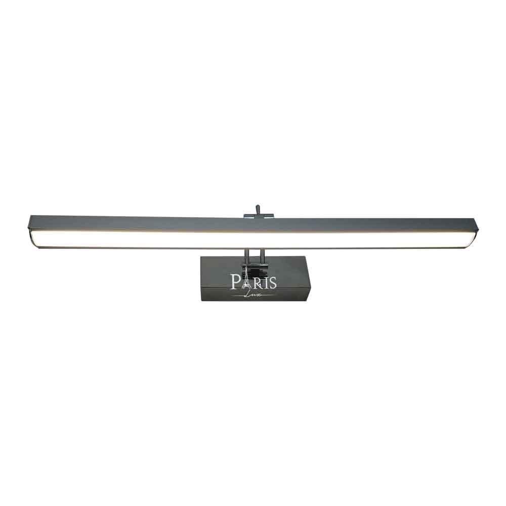 Arandela Camarim Articulável LED 8W 4000K Cromada 50cm Delis