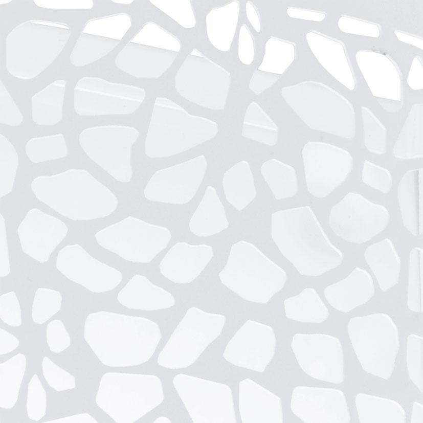 Arandela Carmelia Branco Aço 1E27 25x18CM 91416V Newline