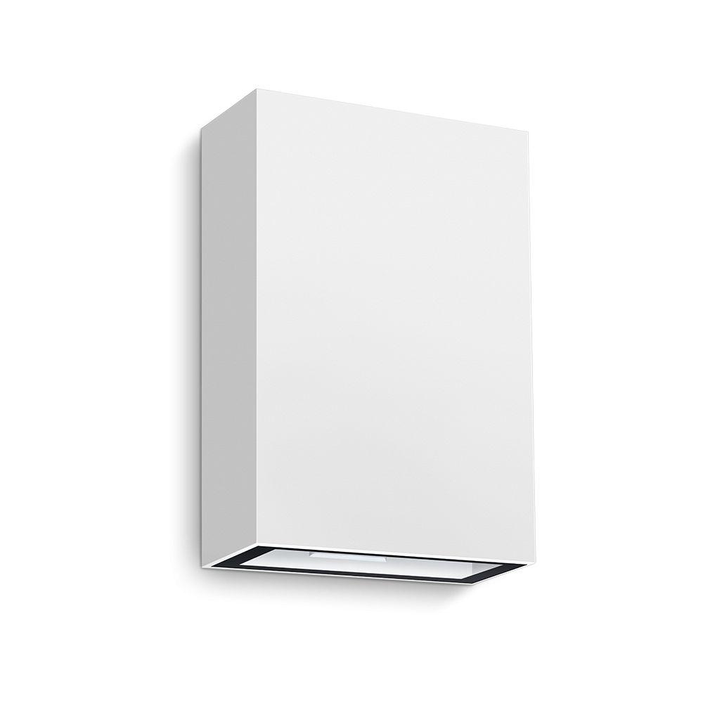 Arandela LED Branca LED 4W 3000K 12cm Muro Parede Externa Delis