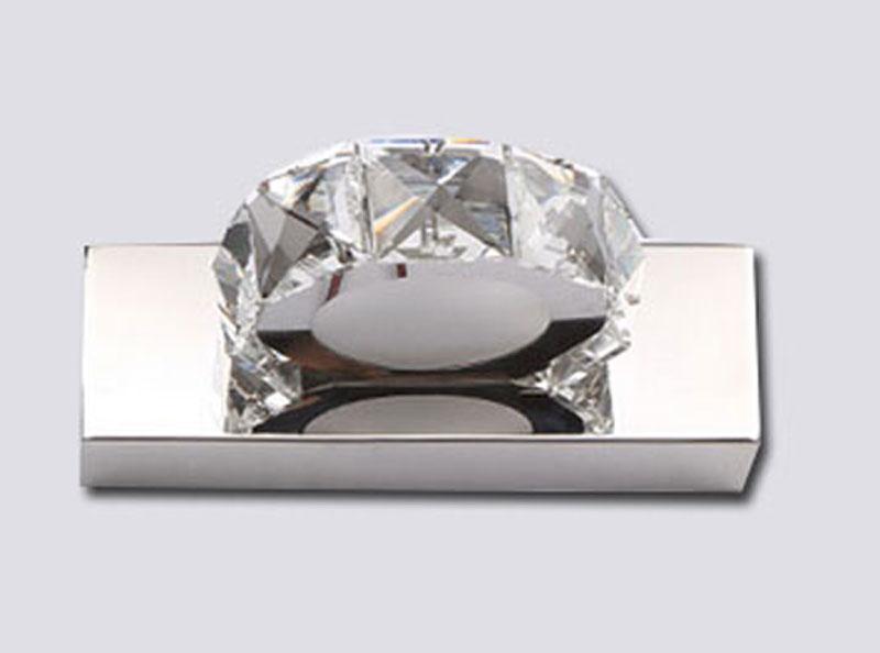 Arandela LED Cristal Redonda 5W 4000K 15x10CM