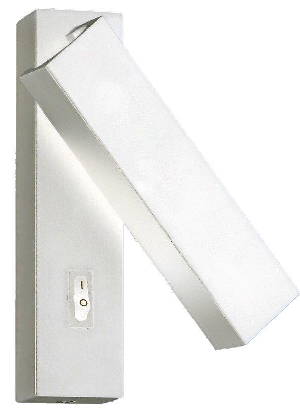 Arandela Metal Cabeceira 14CM Branca LED 3W 3000K Delis