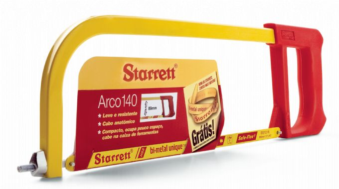 ARCO SERRA FIXO 140 STARRETT