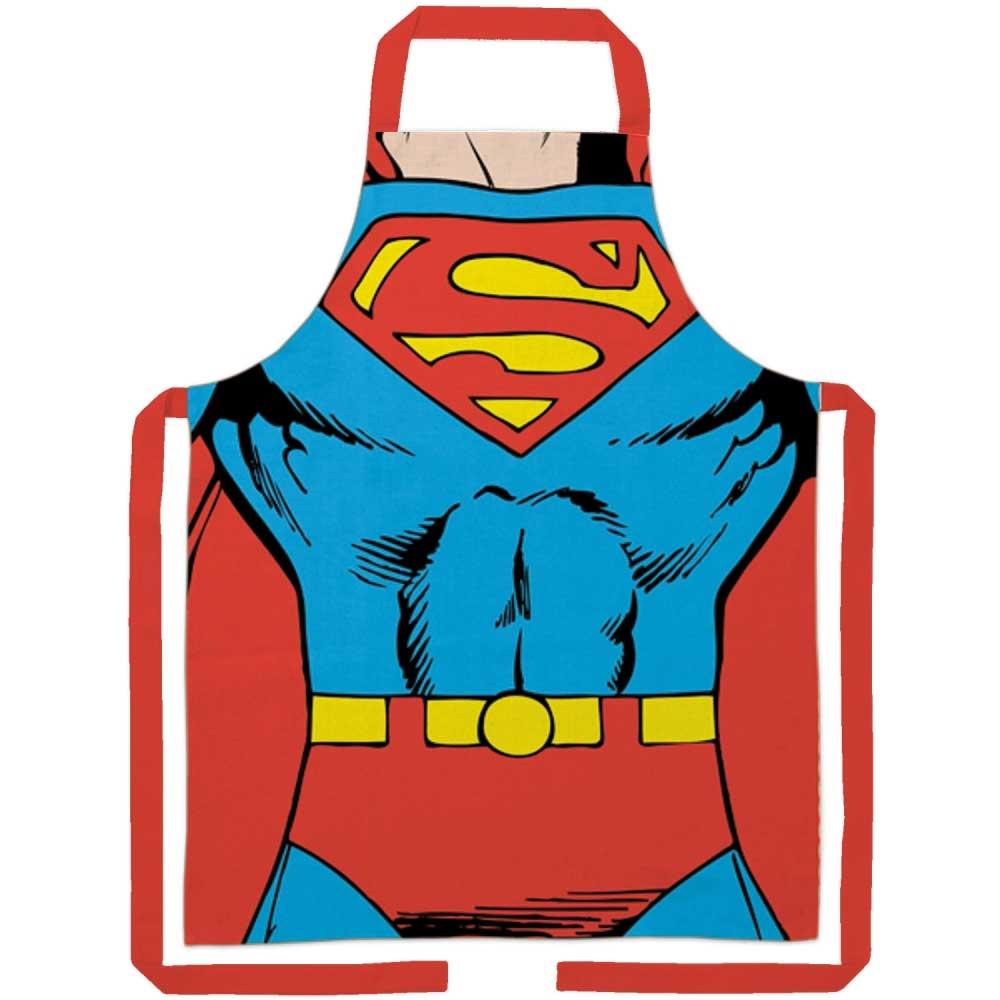 Avental Algodão Superman Body 70x80cm BTC