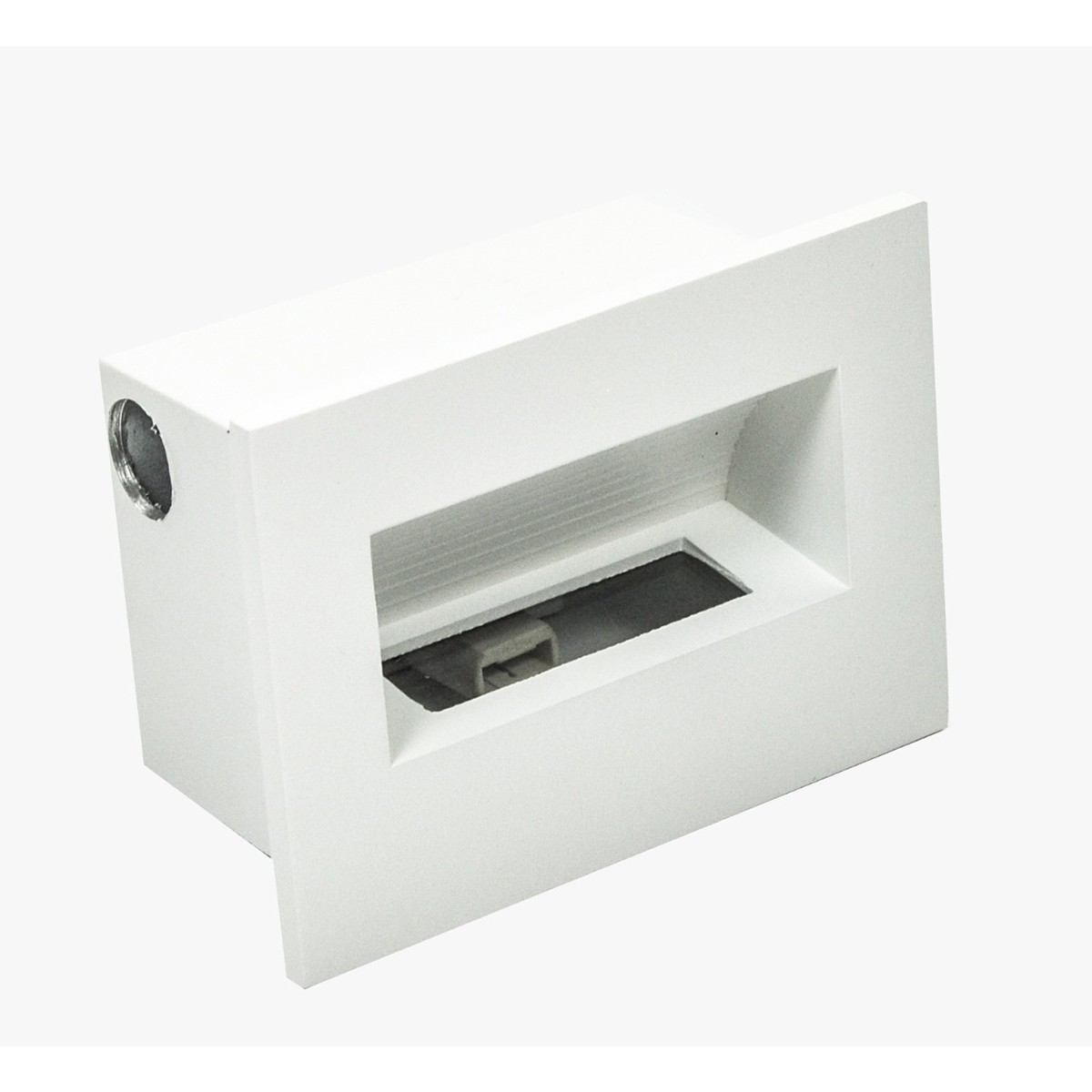 Balizador Embutir 2g9 Retangular 13,3x9,7cm Branco