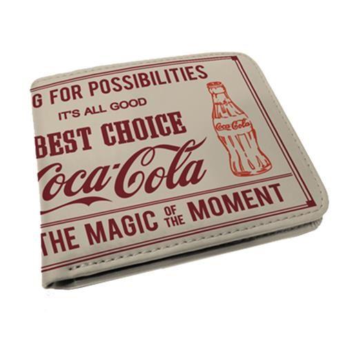 Carteira Coca Cola Magic Moment Bege 26728