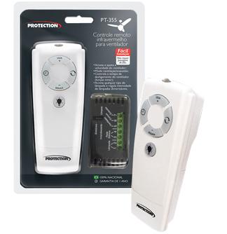 Controle Remoto P/ Ventilador De Teto Com Luz Protection