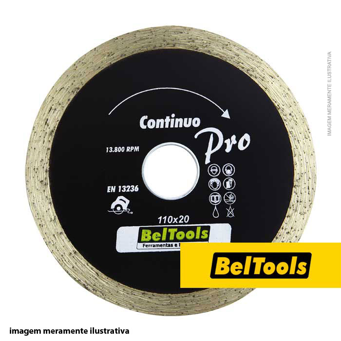 DISCO DIAMANTADO CONTINUO 180X20 BELTOOLS