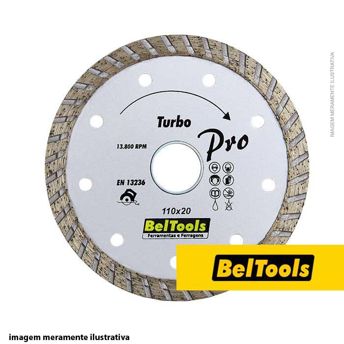 DISCO DIAMANTADO TURBO 230X20 BELTOOLS