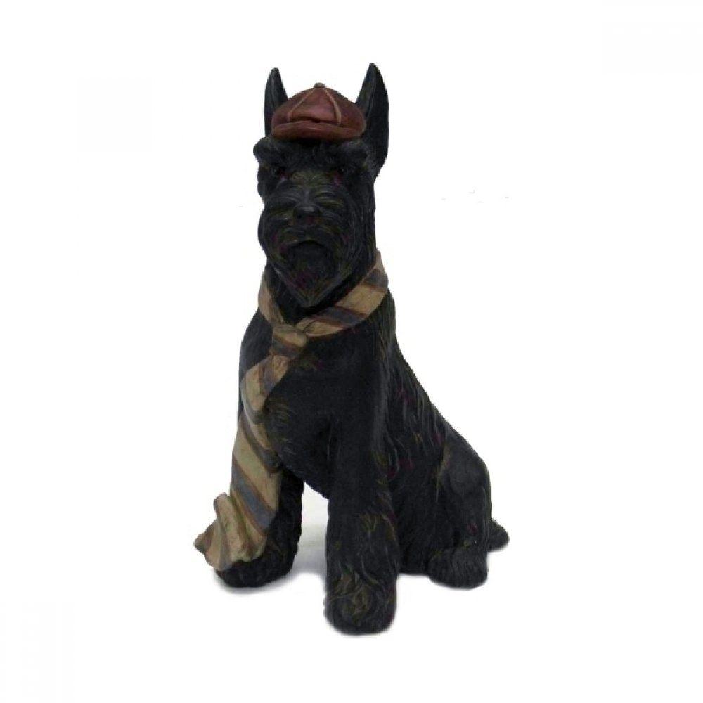 Escultura Cachorro Cerâmica 23CM QC0278