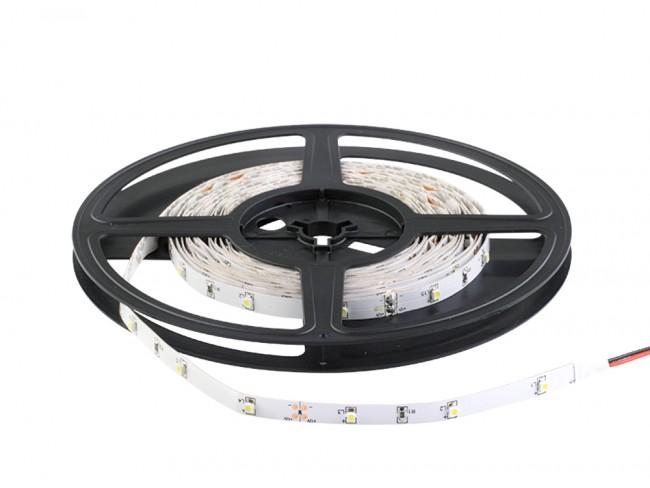 Fita De Led 12V Branco Frio IP20 SMD3528 Rolo 5 Metros